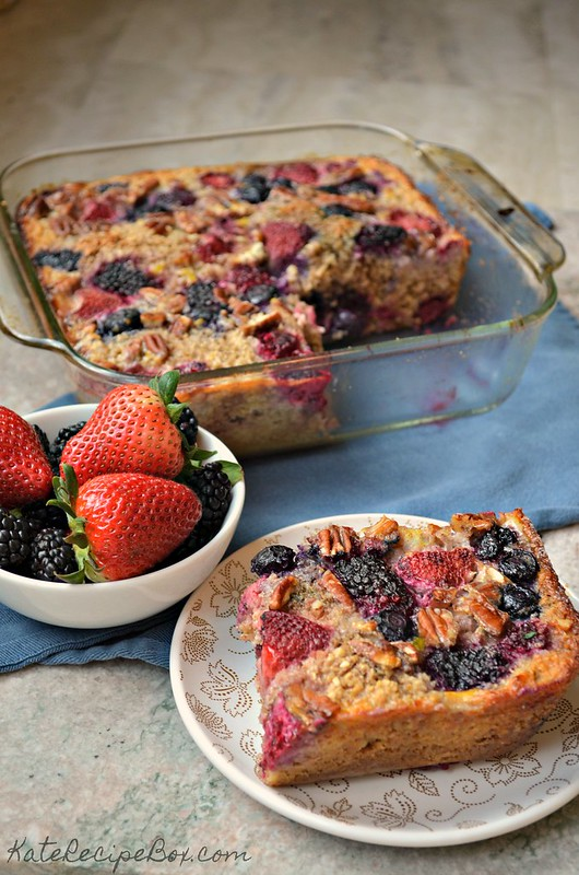 Berry Baked Oatmeal 3