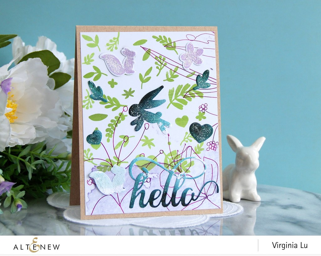 Altenew-SpringFlingStampDieBundle-Virginia#3