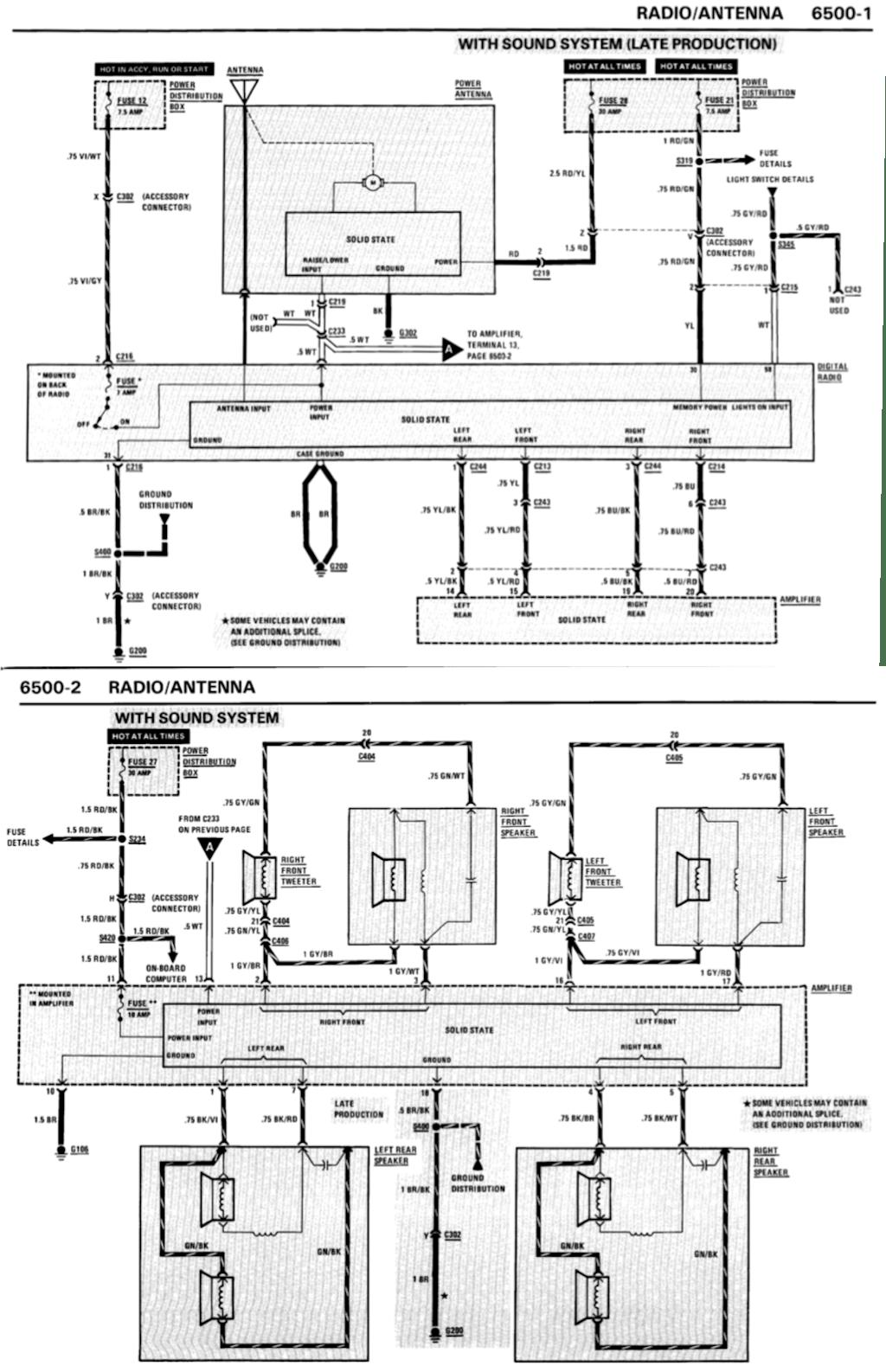 Understanding E30 Speaker And Amp Wiring