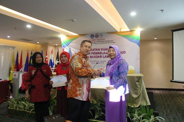 Pelatihan Ujicoba Modul Pembelajaran PAUD di Lampung