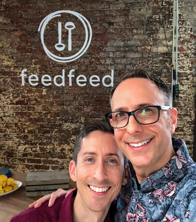 ready to start our live cooking demo at the Feedfeed