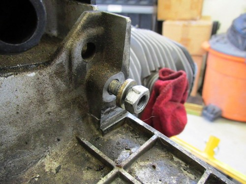 Upper Right Transmission Mounting Nut