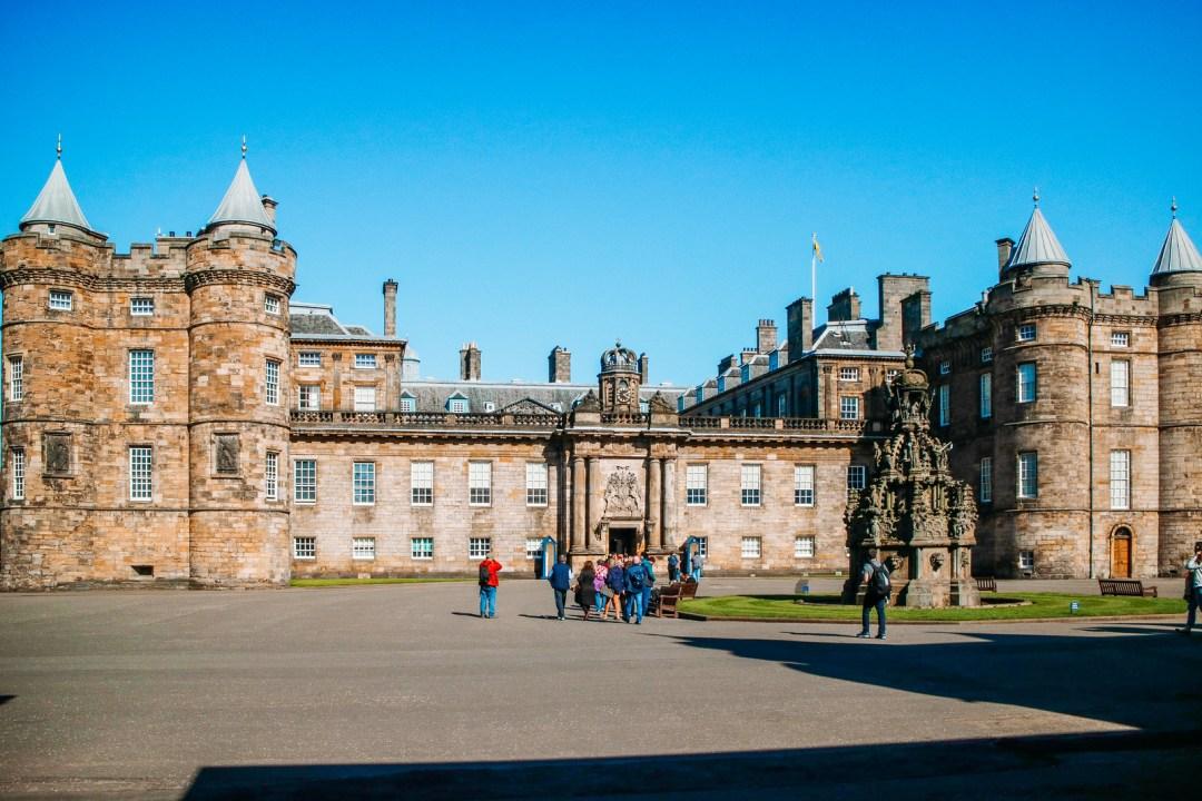 Holyrood Palace, Edimburgo