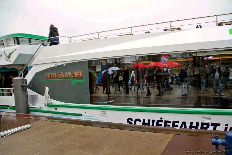 Schiffstaufe der MS Schwielowsee - hybrid -  das neue Hybridschiff der Weissen Flotte Potsdam mit modernstem Antriebskonzept