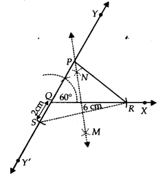 NCERT Solutions for Class 9 Maths Chapter 11 Constructions Ex 11.2 q3