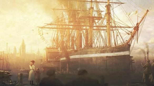 Anno 1800 - Sunset Harbor