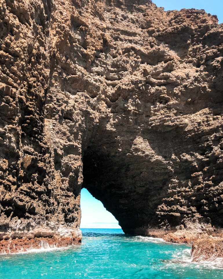 Na Pali Coast Sea Cave and Snorkel with Na Pali Pirates - Kauai Things to do, Kauai Travel, Kauai Activities, Kauai Must do, Kauai Travel Tips, Na Pali Coast Tour, Na Pali Coast | Wanderlustyle.com