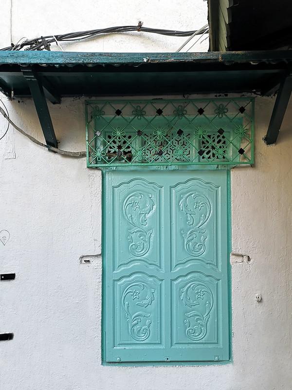 ventana de casa en Medina de Tunez