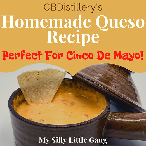 CBDistillery's Homemade Queso Recipe ~ Perfect For Cinco De Mayo! #MySillyLittleGang