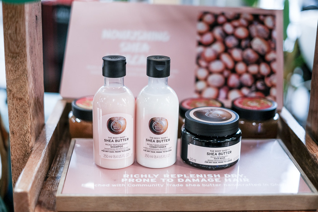 the bodyshop Ginger haircare range-2