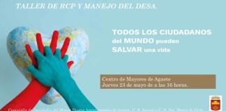 El Ayuntamiento organiza el Taller de RCP y manejo del DESA en el Centro de Mayores