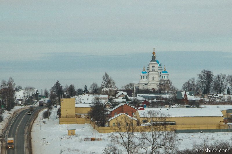 Церковь Сошествия Святого Духа в селе Новом