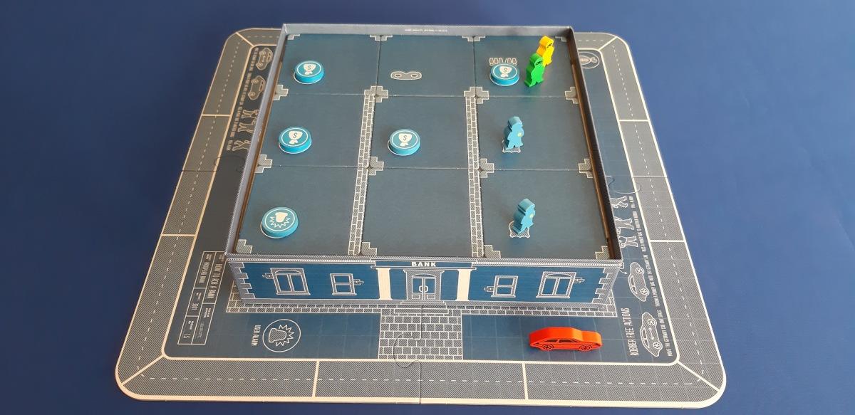how to rob a bank juego de mesa