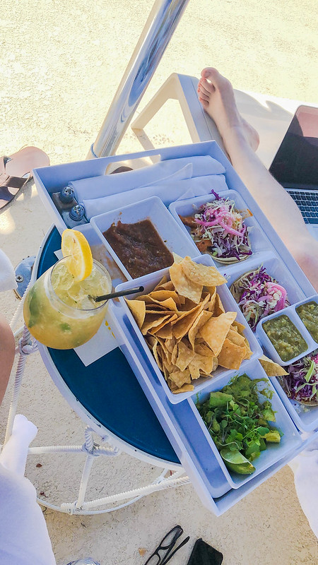 Poolside Snacks at the Parker
