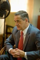 Chilean Ambassador to Guyana, HE Patricio Marshall.