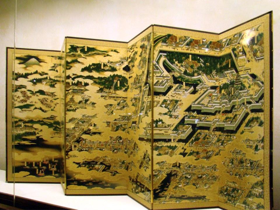 Museo Edo Biombos Tokio Japon 04