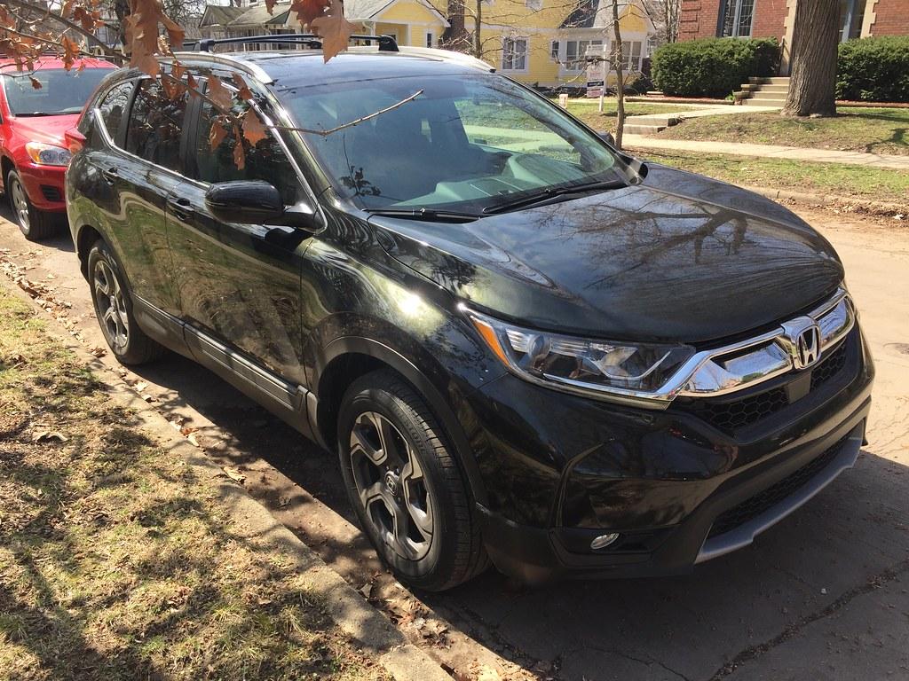 The New Vehicle - Honda CRV