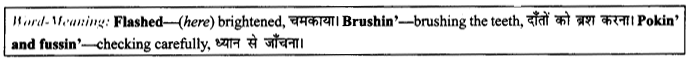 NCERT Solutions for Class 9 English Literature Chapter 11 Oh, I Wish I'd Looked After Me Teeth 4