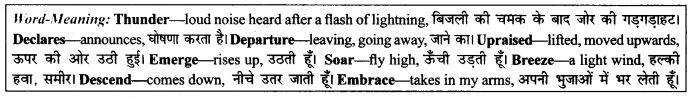NCERT Solutions for Class 9 English Literature Chapter 12 Song of the Rain 5