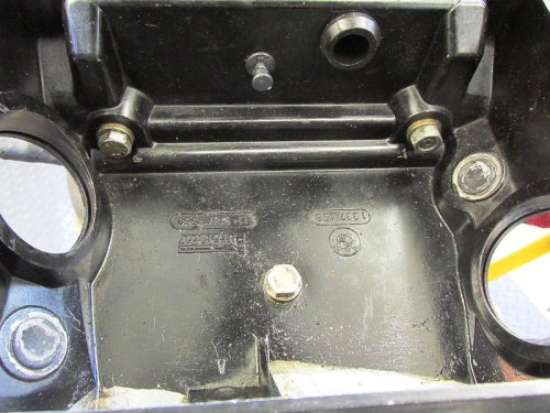 Air Box Mounting Hardware Use Two Bolts and One Nut
