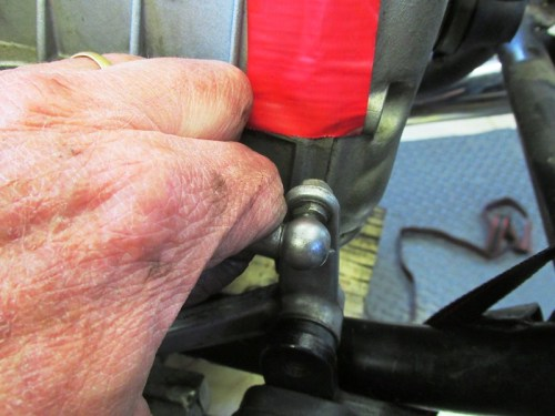 Remove Shift Lever Adjuster From Shift Lever