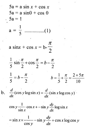 Plus Two Maths Chapter Wise Previous Questions Chapter 5 Continuity and Differentiability 7