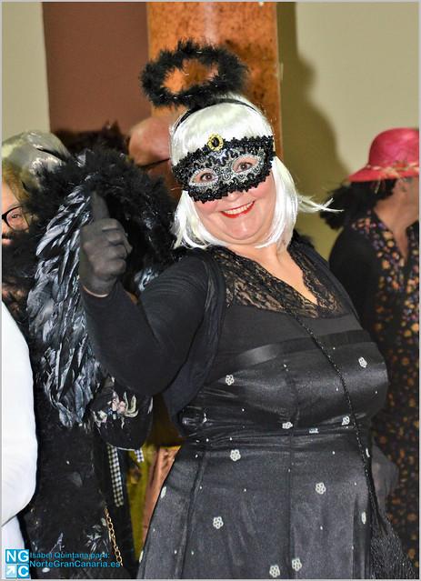 Baile de Carnaval en Melenara-Telde por Isabel Quintana