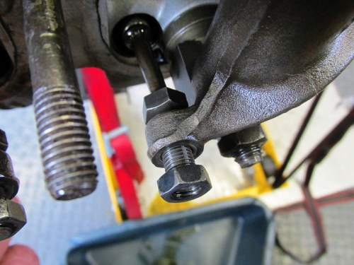 Tappet Adjuster Backed All The Way Out So Push Rod Spins & Tappet is Free to Move