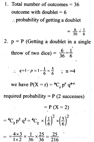 Plus Two Maths Chapter Wise Previous Questions Chapter 13 Probability 8