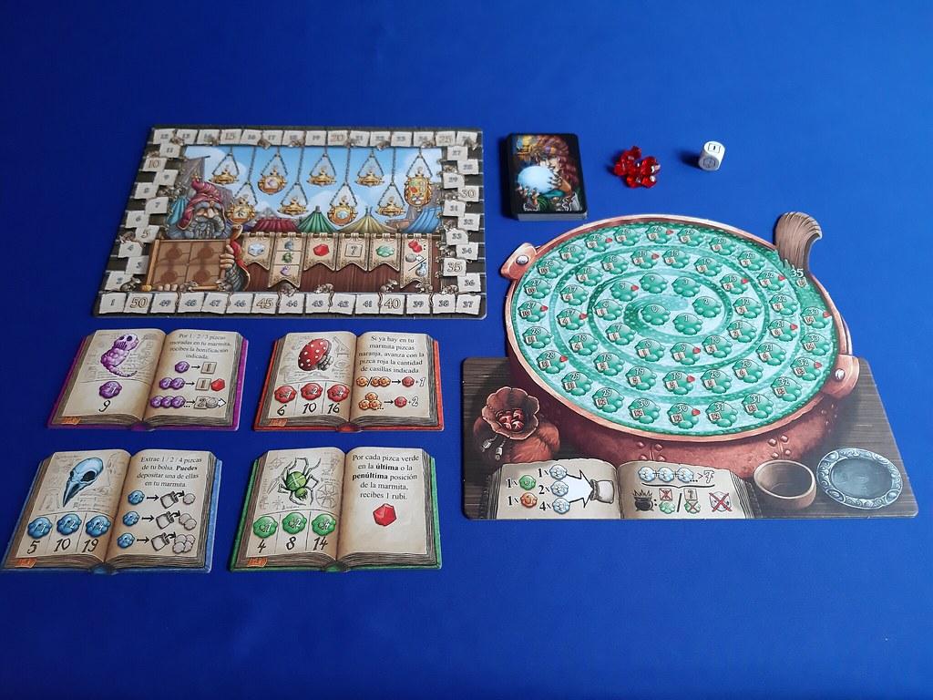 pócimas y brebajes juego de mesa