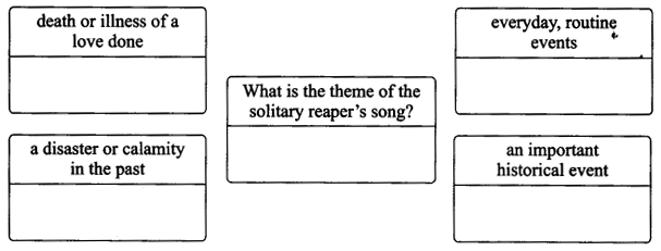 NCERT Solutions for Class 9 English Literature Chapter 8 The Solitary Reaper 1