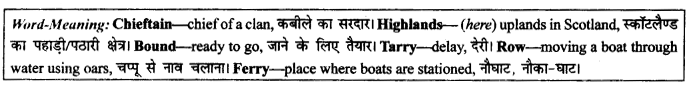 NCERT Solutions for Class 9 English Literature Chapter 9 Lord Ullin's Daughter 3