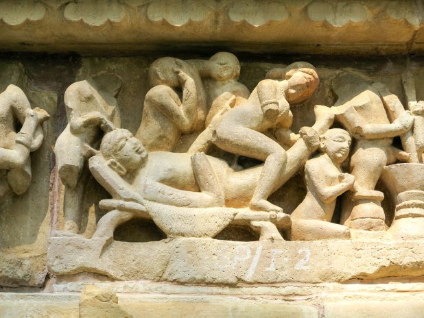 Templos del kamasutra en Khajuraho