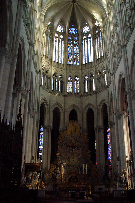Главный алтарь Амьенского собора, Амьен, Франция
