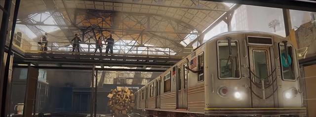 विश्व युद्ध Z - ट्रेन डिपो