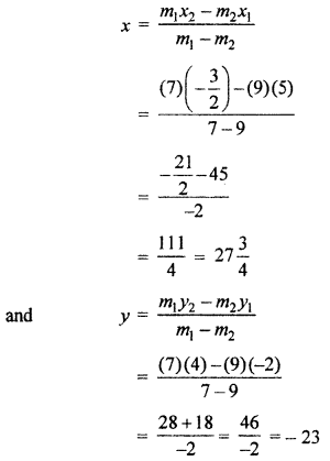RBSE Solutions for Class 10 Maths Chapter 9 Co-ordinate Geometry Q.2
