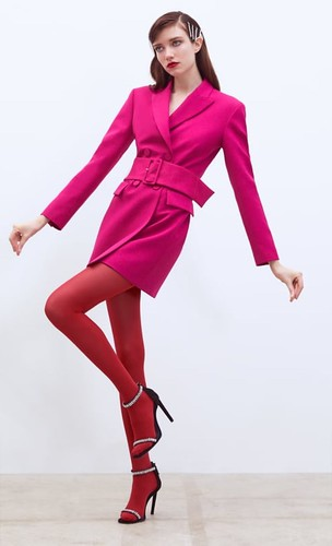 Vestido blazer zara