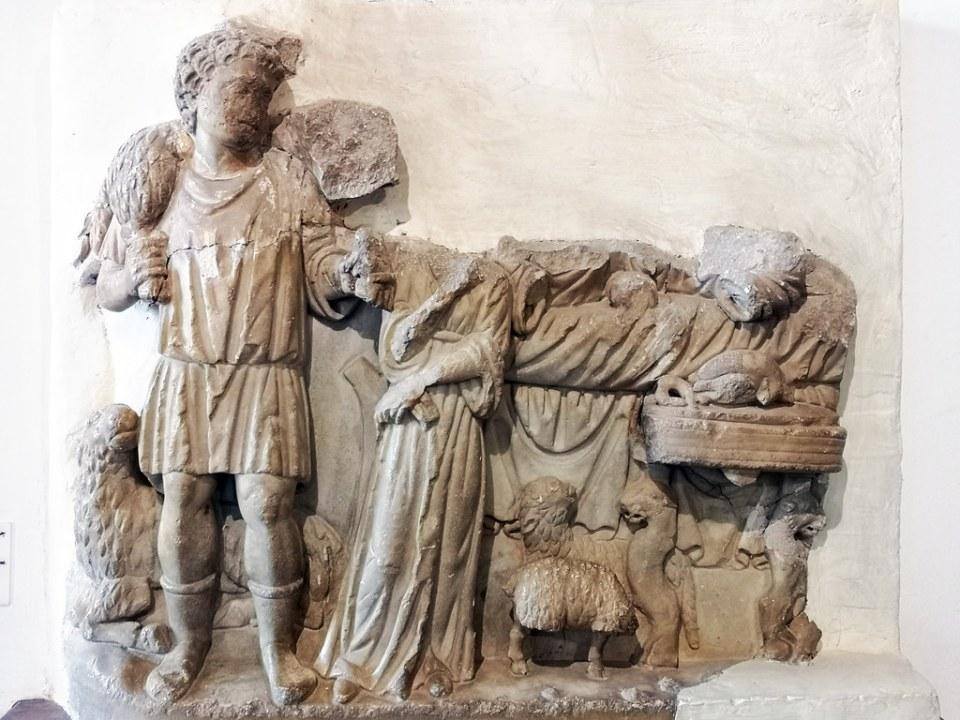 relieve Museo Nacional del Bardo Tunez 02