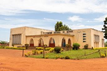 De enige echte bezienswaardigheid in Gitega, het nationale museum.