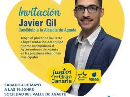 Coalición Canaria presenta en El Valle de Agaete su candidatura al Ayuntamiento de Agaete el sábado 4 de mayo
