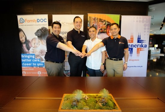 Hapinoy, Generika and FamilyDOC with AC Health
