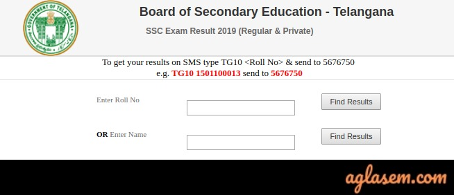 TS SSC Name Wise
