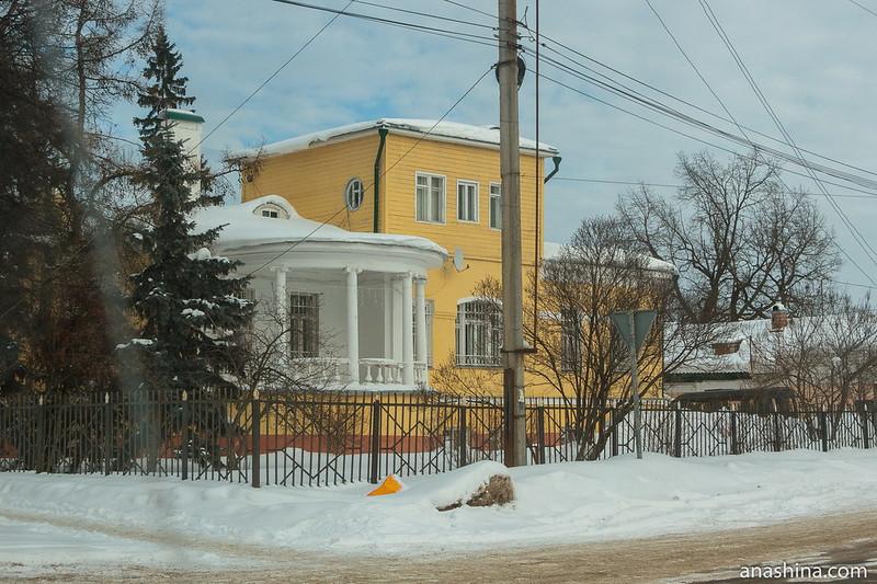 Старинный дом в Переславле-Залесском