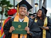 The University of Hawaii Maui College celebrated spring commencement on May 9, 2019 on the The Great Lawn.