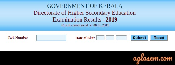 Kerala Plus Two Result 2019