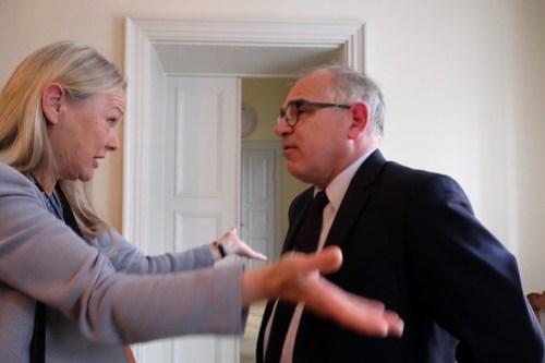 Karin Veres och Didier Schnorhk