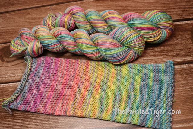 Stormbreaker Journey 50s - April 2019 Tiger Sock Yarn Club
