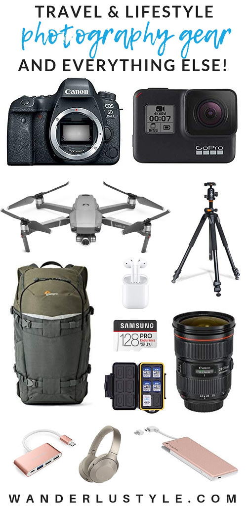 Travel and Lifestyle Photography Gear and everything else! Vlogging, Photography, Videography, Drone, Photography Gear, GoPro, DJI Mavic, Canon, Sony | Wanderlustyle.com