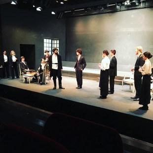 Première répétition générale de Platonov. #tchekhov #théâtre #atea2019