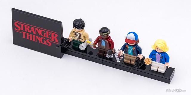 REVIEW LEGO 75810 Stranger Things 25